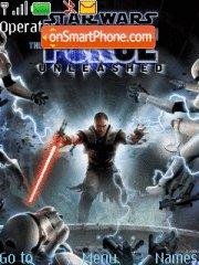 Star Wars The Force Unleashed theme screenshot