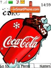 Cola-Cola theme screenshot