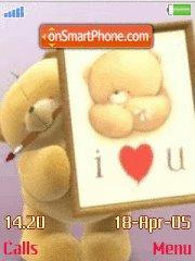 Ff Bear Love You es el tema de pantalla