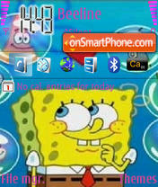 Spanch Bob theme screenshot