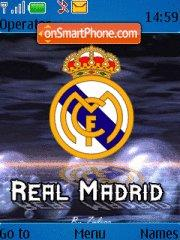 Real Madrid theme screenshot