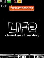 Capture d'écran Life thème
