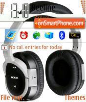 Nokia Headset 2 theme screenshot