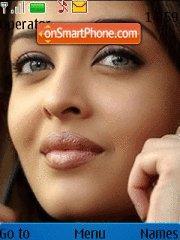 Aishwarya Rai 01 theme screenshot