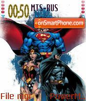 Justice League 01 theme screenshot