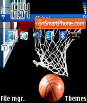 Basketball 02 theme screenshot