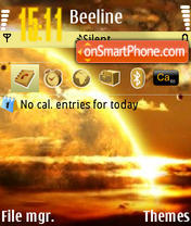 The Earth theme screenshot