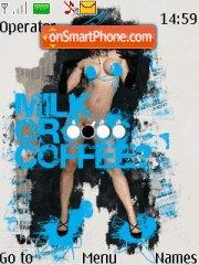 Milk or Coffee es el tema de pantalla