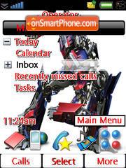 Transformery theme screenshot