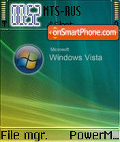 Vista Home S60v2 theme screenshot