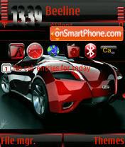 Audi Car Animated s60v3 es el tema de pantalla