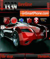 Скриншот темы Audi Car Animated s60v3