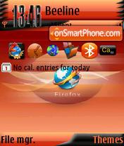 Firefox s60v3 theme screenshot