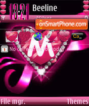 M Animated s60 v3 theme screenshot