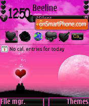 Romantic Place s60v3 es el tema de pantalla