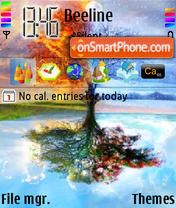4seasons theme screenshot