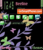 SweetButterfly theme screenshot