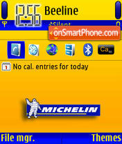 Michelin theme screenshot