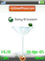 Sony 01 theme screenshot