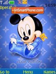 Скриншот темы Lv Mickey