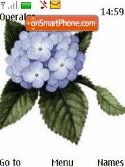 Скриншот темы Cute Flowers