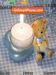 Teddy Bear Candle es el tema de pantalla