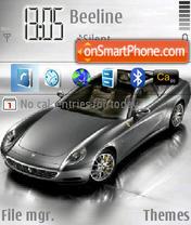 Ferrari 612 theme screenshot