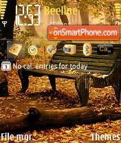 Park theme screenshot
