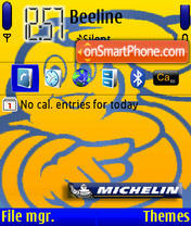 Michelin v1.2 theme screenshot