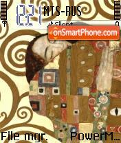 Gustav Klimt theme screenshot
