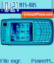 N6680 theme screenshot