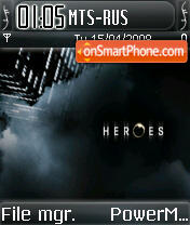 Heroesv2 theme screenshot
