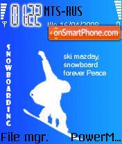 Snowboarding 03 theme screenshot