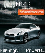 Skyline R35 GTR S60v2 theme screenshot