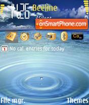 Скриншот темы Drop