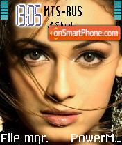 Diya Mirza theme screenshot