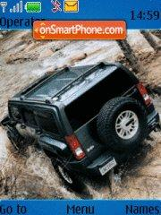 Hummer H2 Theme-Screenshot