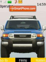 Toyota Jeep tema screenshot