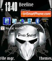 Скриншот темы Pirate Station
