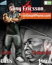 50 Cent 13 theme screenshot