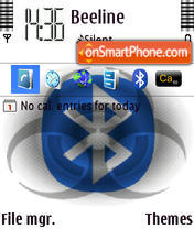 Bluetooth theme screenshot
