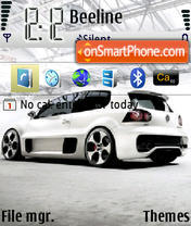 Vw-Golf-Gti-W12 theme screenshot