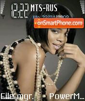 Rihanna es el tema de pantalla