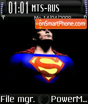SupermanV2 theme screenshot