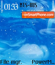 SkyScape S60v2 theme screenshot