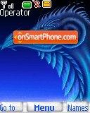 Blue Dragon S40 01 theme screenshot