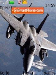 F-15 Eagle tema screenshot