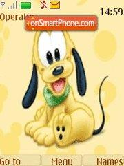 Baby Pluto theme screenshot