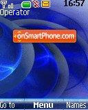 Blue theme screenshot