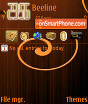 Fonkristin 01 theme screenshot